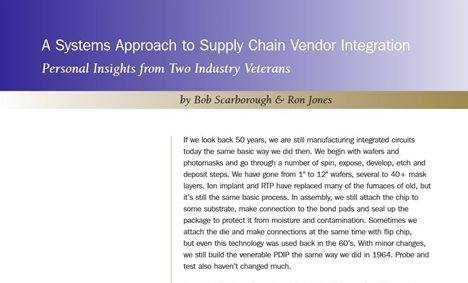 Supply Chain Vendore integration