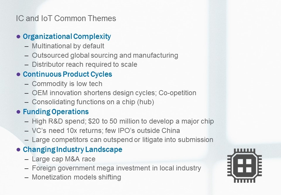 IC and IOT Themes